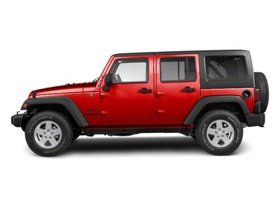 2012 Jeep Wrangler Unlimited 4WD 4dr Sport SUV