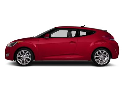 2013 Hyundai Veloster 3dr Coupe Automatic w/Black Int