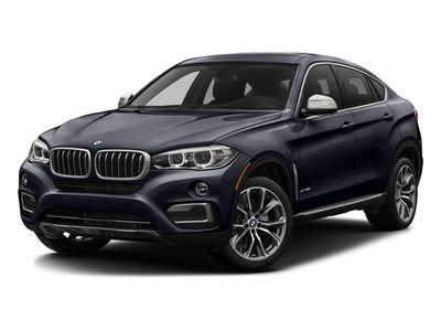 2016 BMW X6 $103K MSRP M'SPORT 5.0 DRIVERS ASSIST PLUS COGNAC/BLACK DESIGN - Click to see full-size photo viewer