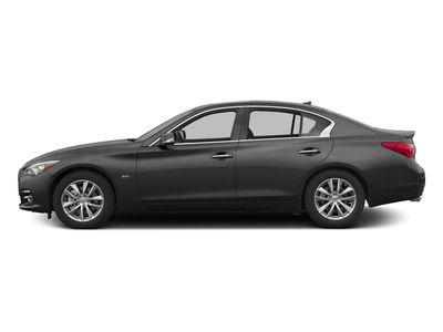 2016 Infiniti Q50 Premium; Sport; Red Sport Sedan