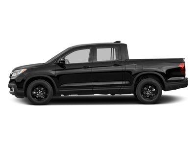 2017 Honda Ridgeline Black Edition 4x4 Crew Cab Truck