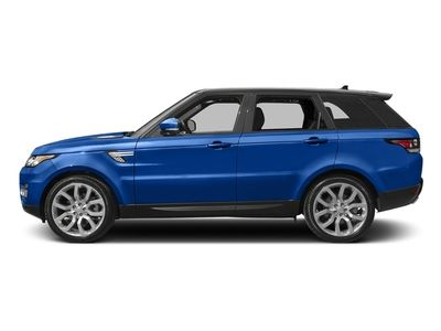 New 2017 Land Rover Range Rover Sport V6 Supercharged HSE
