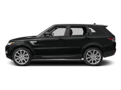 2017 Land Rover Range Rover Sport RANGE ROVER SPO 4DR SUV SC V6