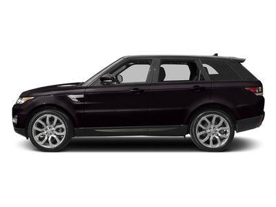 New 2017 Land Rover Range Rover Sport V6 Supercharged SE SUV