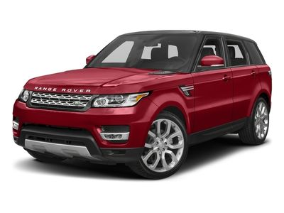 2017 Land Rover Range Rover Sport TD6 SPORT DIESEL CLIMATE PKG DRIVE PKG PANORAMIC ROOF 19'WHEELS - Click to see full-size photo viewer