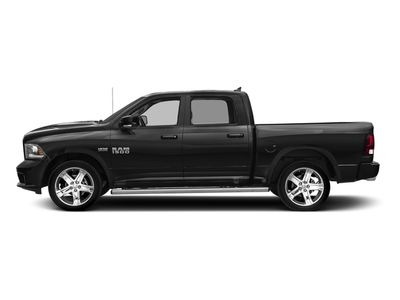"2017 Ram 1500 Night 4x4 Crew Cab 5'7"" Box Truck"