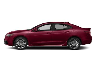 New 2018 Acura TLX FWD V6 A-Spec Red Sedan