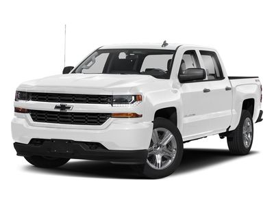 """2018 Chevrolet Silverado 1500 2WD Crew Cab 143.5"""" Custom - Click to see full-size photo viewer"""