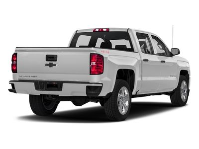 """2018 Chevrolet Silverado 1500 4WD Crew Cab 143.5"""" Custom - Click to see full-size photo viewer"""