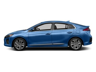 New 2018 Hyundai Ioniq Hybrid Blue Hatchback Sedan