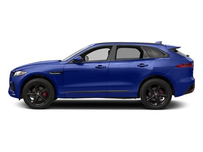 New 2018 Jaguar F-PACE S AWD SUV