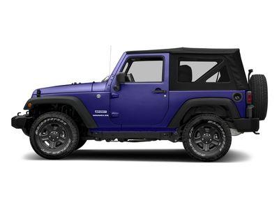 New 2018 Jeep Wrangler JK Sport 4x4