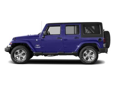 New 2018 Jeep Wrangler JK Unlimited Sahara 4x4