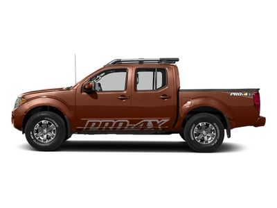 New 2018 Nissan Frontier Crew Cab 4x4 PRO-4X Manual Truck