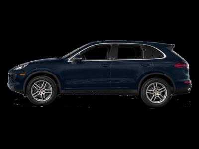 New 2018 Porsche Cayenne