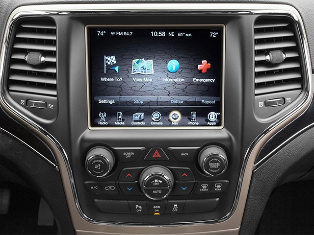 2014 Jeep Grand Cherokee 4WD 4dr Overland - 17213827 - 8