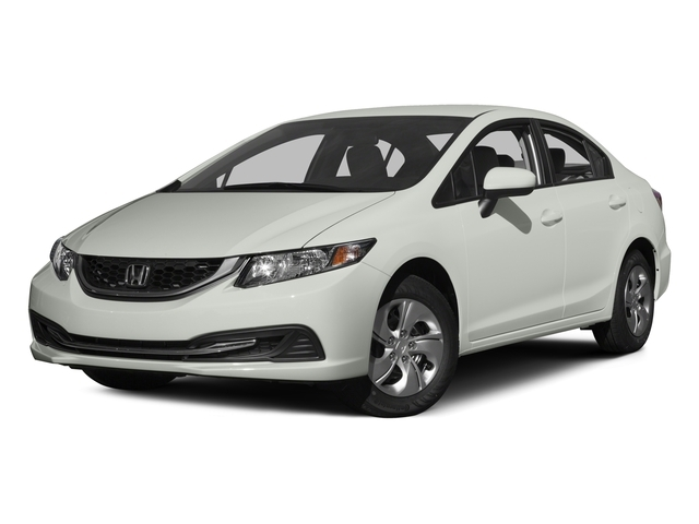 2015 Honda Civic Sedan LX - 17719891 - 1