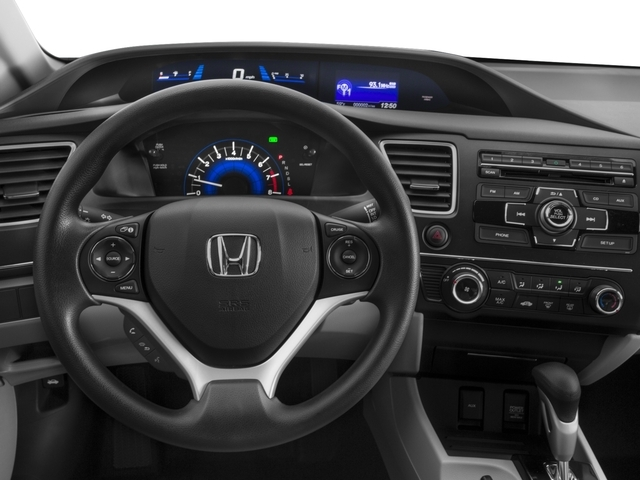2015 Honda Civic Sedan LX - 17719891 - 5