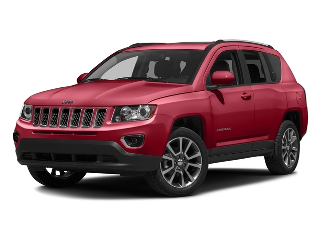 2016 Jeep Compass 4WD Latitude w/ Leather - 17425608 - 1