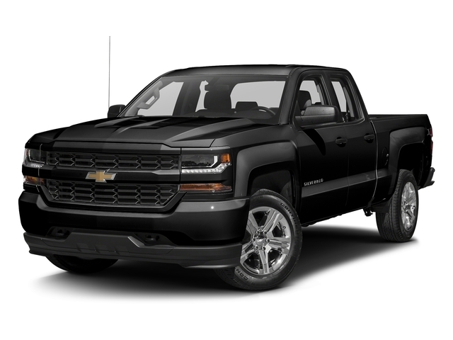 2017 Chevrolet Silverado 1500 4WD Double Cab Standard Box Custom - 16123075 - 1