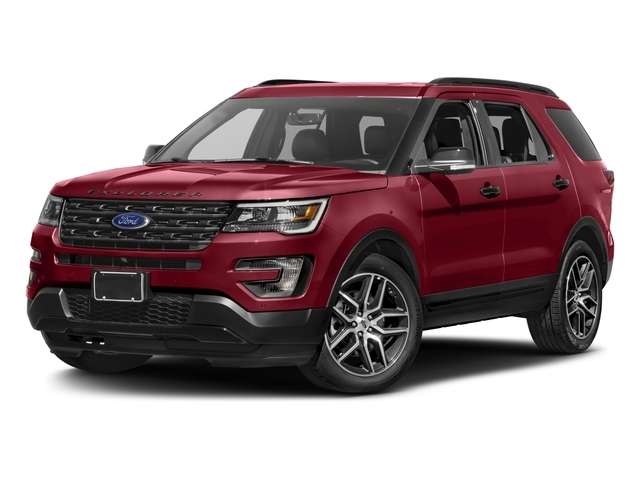 2017 Ford Explorer Sport 4WD - 16831682 - 1