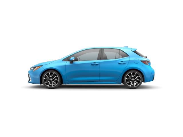 2019 New Toyota Corolla Hatchback Xse Manual At Hudson Toyota
