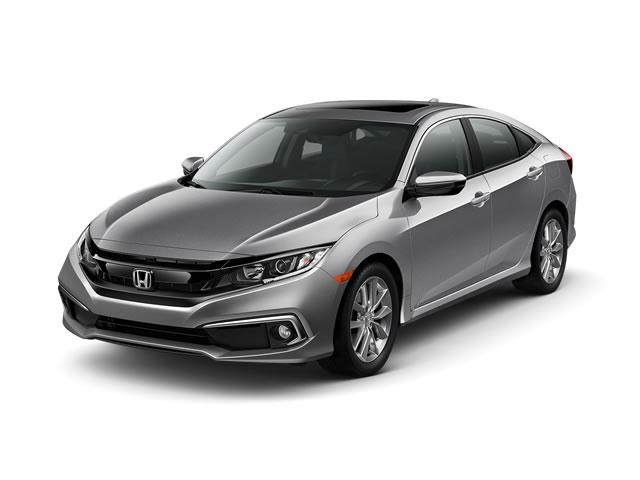 2019 Honda Civic Sedan EX-L CVT - 18582951 - 0