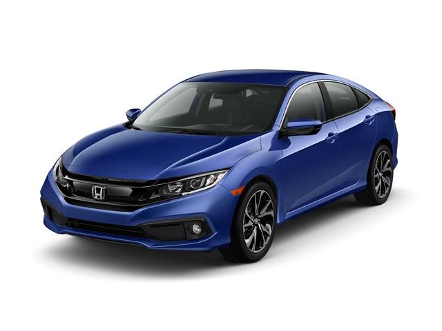 2019 Honda Civic Sedan Sport Manual - 18621126 - 0