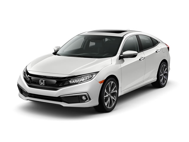 2019 Honda Civic Sedan Touring CVT - 18494641 - 0